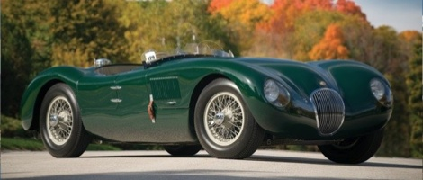 Jaguar type C ex Phil Hill de 1952