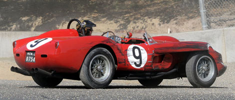 Ferrari 250 TR au Monterey Historic