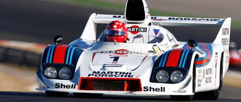 Jean Marc Luco au volant de sa Porsche 936
