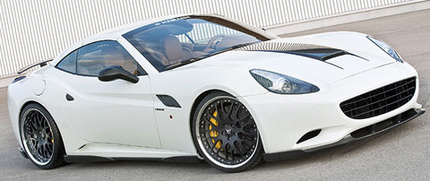 Hamann s'attaque à la Ferrari California