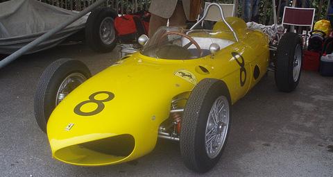 Une réplique de Ferrari Sharknose !