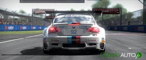 BMW M3 gtr ALMS dans Need For Speed Shift