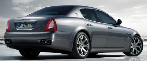 Voiture du jour : Maserati Quattroporte