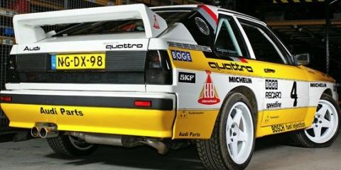 Une réplique d'Audi Sport Quattro !