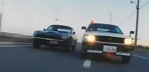 Vidéo : Toyota TE71 Corolla Levin contre S30 Fairlady Z