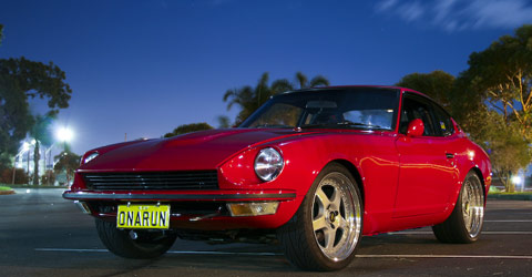 Une Z pas comme les autres : BRE Datsun 240Z