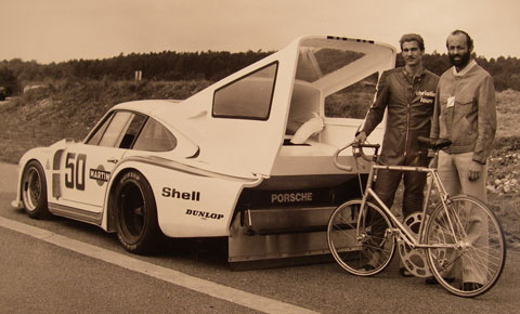Photo du jour : Jean Claude Rude et Henri Pescarolo