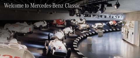 Nouveau site «classic» pour Mercedes Benz