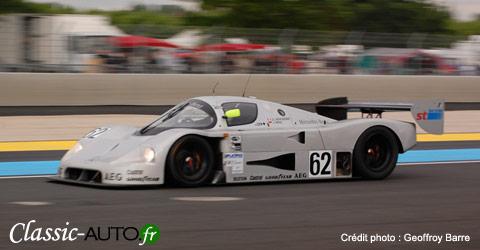 Mercedes Groupe C au Mans 2008 le jeudi des essais