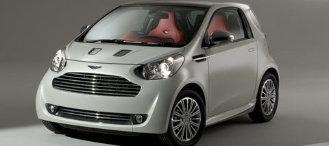 L'Aston Martin cygnet devrait arriver en 2010