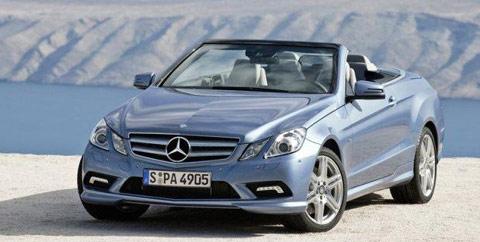 Nouvelle Mercedes classe E cabriolet