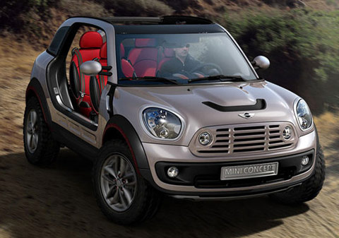 La mini beachcomber concept, nouvelle Mini Moke ?