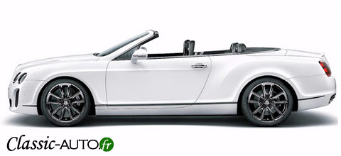 Bentley continental cabriolet Supersports