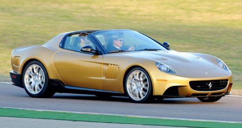 La Ferrari p540 superfast aperta