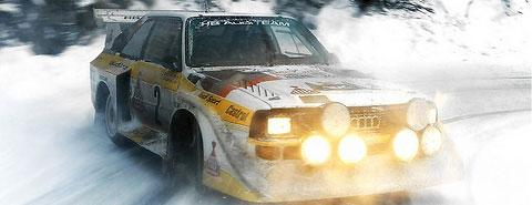 Audi Quattro en compétition