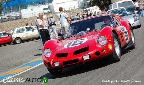 La 250 GTO camionnette au Mans Classic 2008