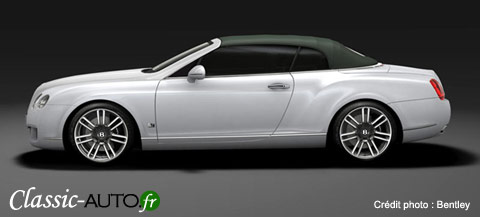 Le luxe selon Bentley : la Bentley Continental GTC Series 51