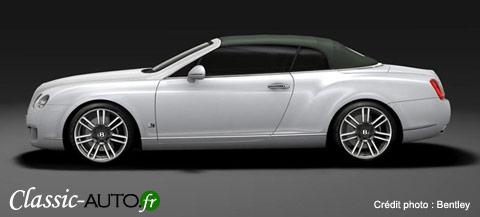 Le luxe selon Bentley : la Bentley Continental GTC Series 51