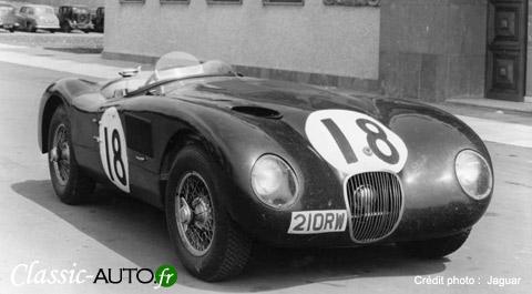 La Jaguar Type C introduira les freins à disque en compétition