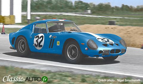 Ferrari 250 GTO du NART à Sebring 1963