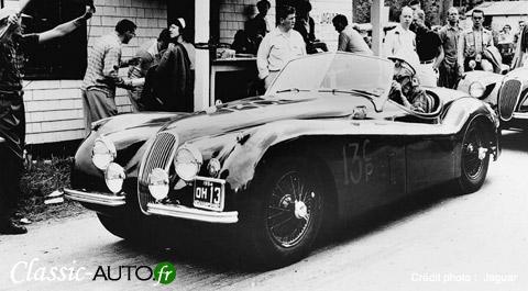 Jaguar XK 120, un vrai succès pour la marque de Coventry