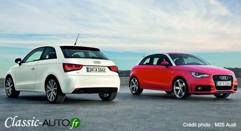 La location de l'Audi A1 se fera en France en septembre