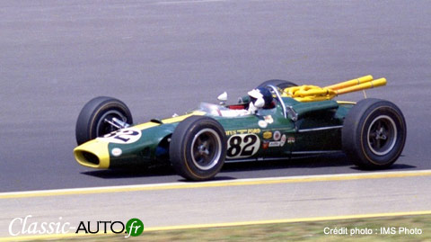 Lotus Type 38 (1965) Jim Clark