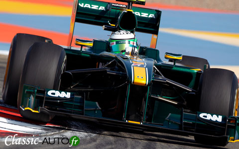 Lotus est de retour en Formule 1 en 2010