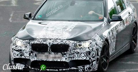 Spyshots BMW M5 F10