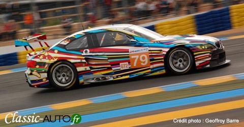 La BMW M3 Art Car de Jeff Koons est au Mans