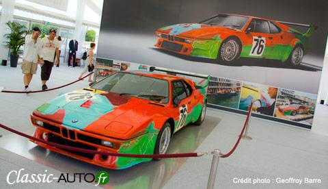 Art Cars de BMW au Mans Classic 2010