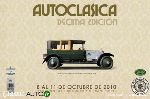 Affiche de Autoclasica 2010