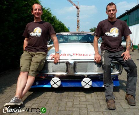 La Dodge Charger sponsorisée par Classic-Auto.fr