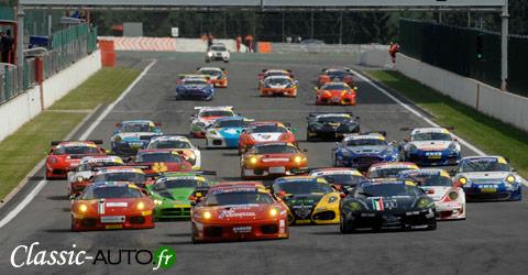 Départ de la manche de Spa en International GT Open