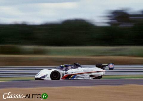 Peugeot 905 aux 24 Heures du Mans 1991