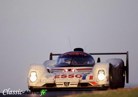 Peugeot 905 aux 24 Heures du Mans 1993