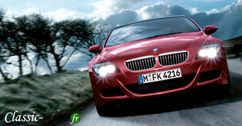 La nouvelle BMW M6 arrivera en 2011