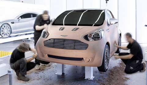 Aston Martin : la Cygnet pour 2011