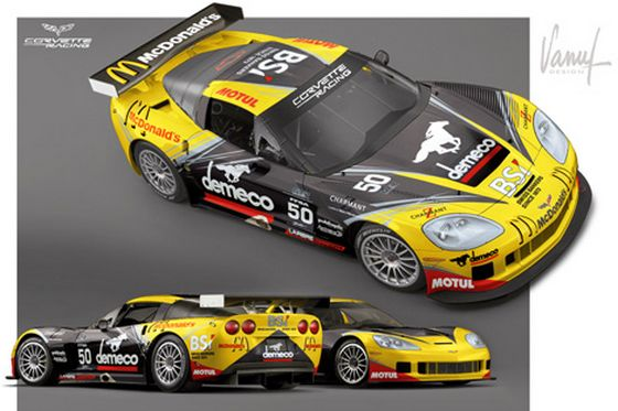 LMS : Des Corvette en Europe en 2011