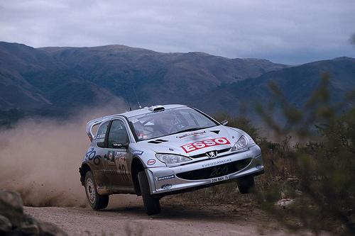 Marcus Gronholm au rallye d'Argentine 2000