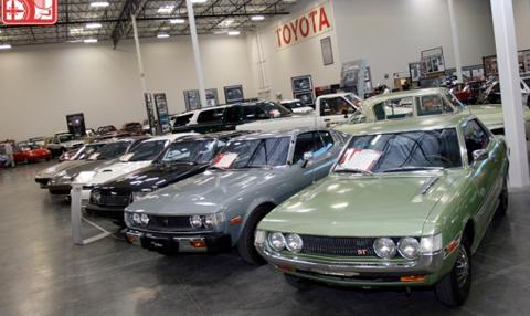 Le Toyota USA Museum se fait une beautée