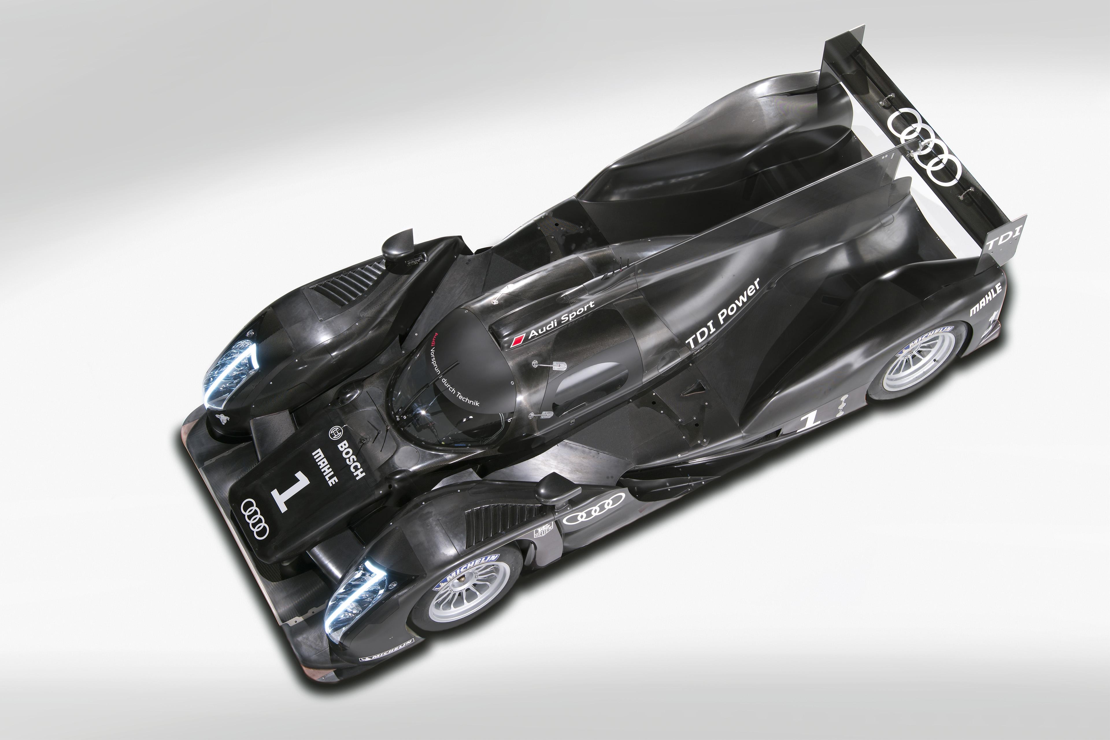 Audi R18 : la nouvelle Audi pour Le Mans 2011