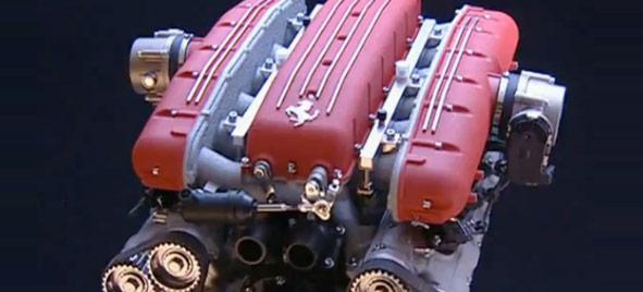 Vidéo : montage du moteur V12 Ferrari