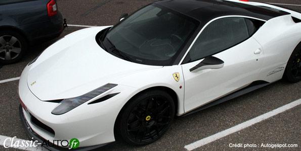 Ferrari 458 Italia Oakley Design à Zandvoort