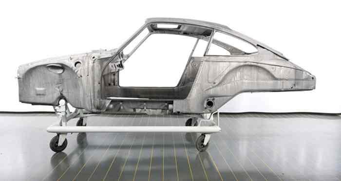 Porsche restaure une 911 T de 1973