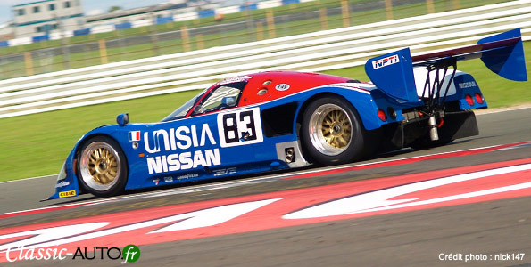 Nissan R90 CK  Silverstone en 2007