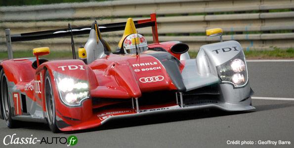 Audi R15+, victorieuse de l'édition 2010 des 24 Heures du Mans