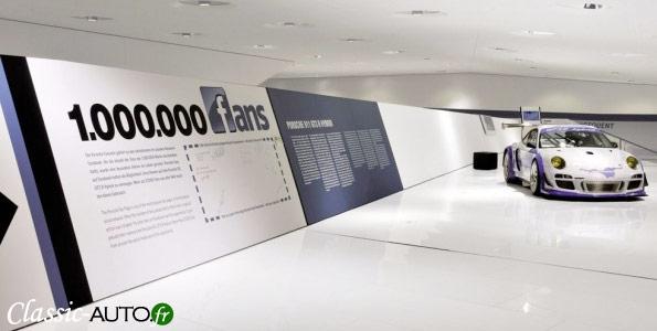 1.000.000 de fans pour Porsche sur Facebook