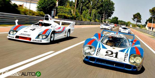 Le Festival Porsche au Mans en juillet