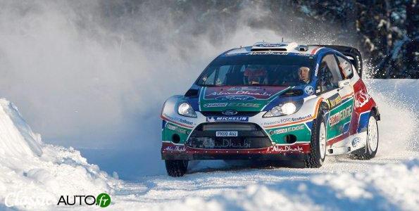Ford FIesta RS WRC au rallye de Suède 2011